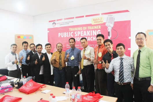 Peserta Public Speaking For Teacher Jakarta 1