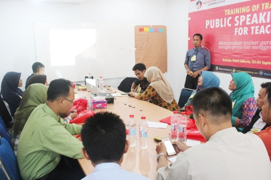 Peserta Public Speaking For Teacher Jakarta 2