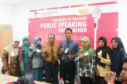Peserta Public Speaking For Teacher Jakarta