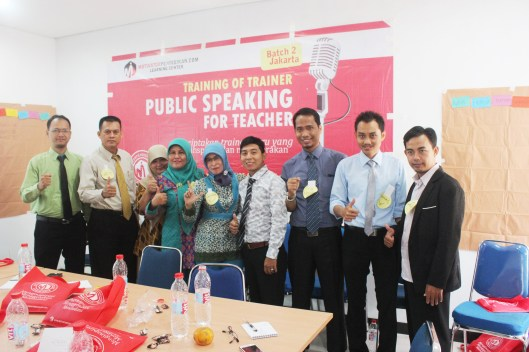 Training Public Speaking For Teachher Jakarta